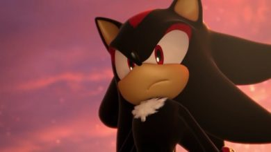 Photo of Shadow the Hedgehog toned down prior to release
