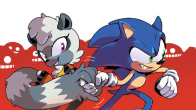 Photo of Meet Tangle, Sonic's new ring-tailed ally