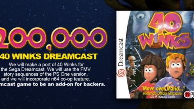 Photo of [Update] 40 Winks Kickstarter gets a Dreamcast stretch goal
