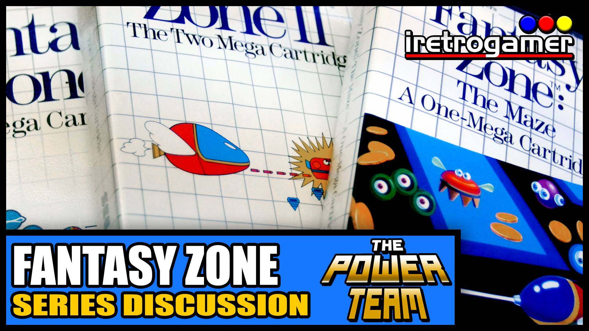 The Power Team takes a look at the Fantasy Zone series