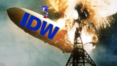 Photo of Is IDW's Sonic the Hedgehog comic in trouble before it even begins?