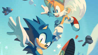 Photo of 'Sonic the Hedgehog' comic pre-order on SEGA Shop