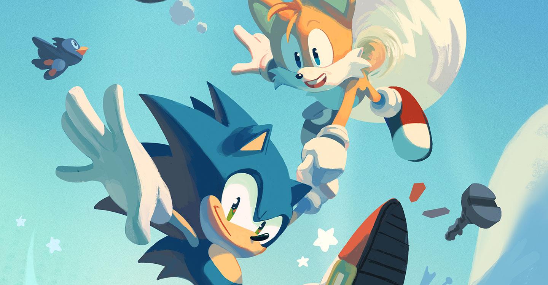 Sonic The Hedgehog Comic Pre Order On Sega Shop Sega Nerds