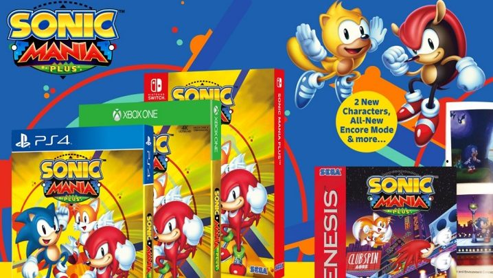 Sonic Mania is getting a physical release with new