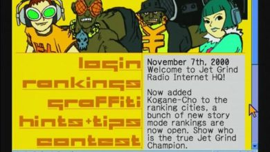 Photo of Jet Grind Radio's online functions restored