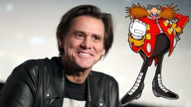 Photo of Jim Carrey reported to portray Dr. Eggman in Sonic film
