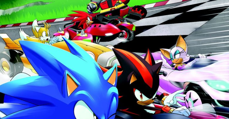 Photo of Team Sonic Racing to get special prequel comic