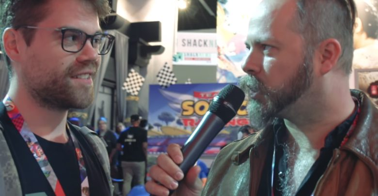 Photo of Check out Ryo Hazuki's voice actor interviewing people at E3