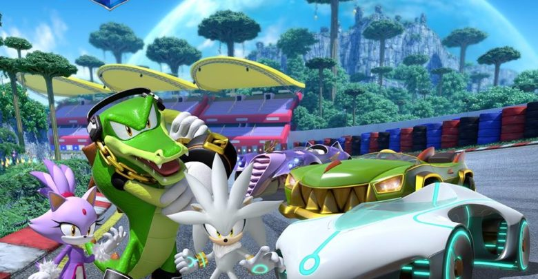 Photo of Blaze, Silver and Vector unveiled as new team in Team Sonic Racing