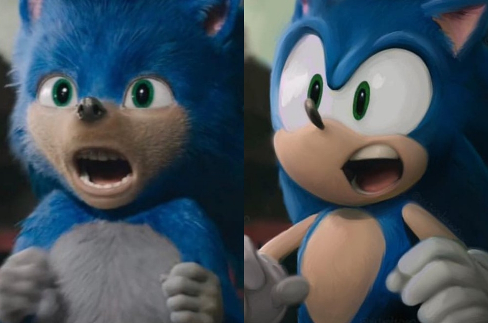 Sonic S Movie Redesign Is A Hit Sega Nerds