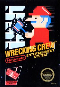 Wrecking Crew Nintendo art