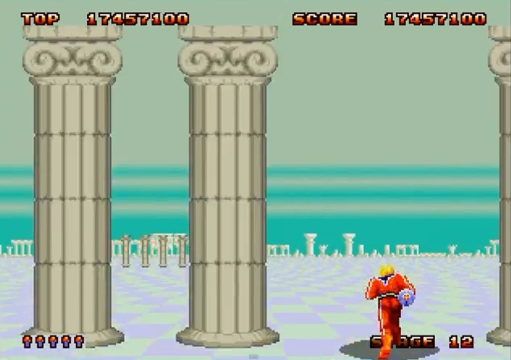 retro_review_Space_Harrier_2_pillars