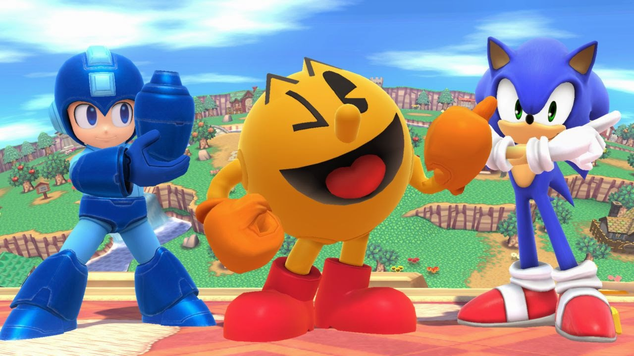 review_sort_of_smash_bros_sonic_mega_man_pac_man