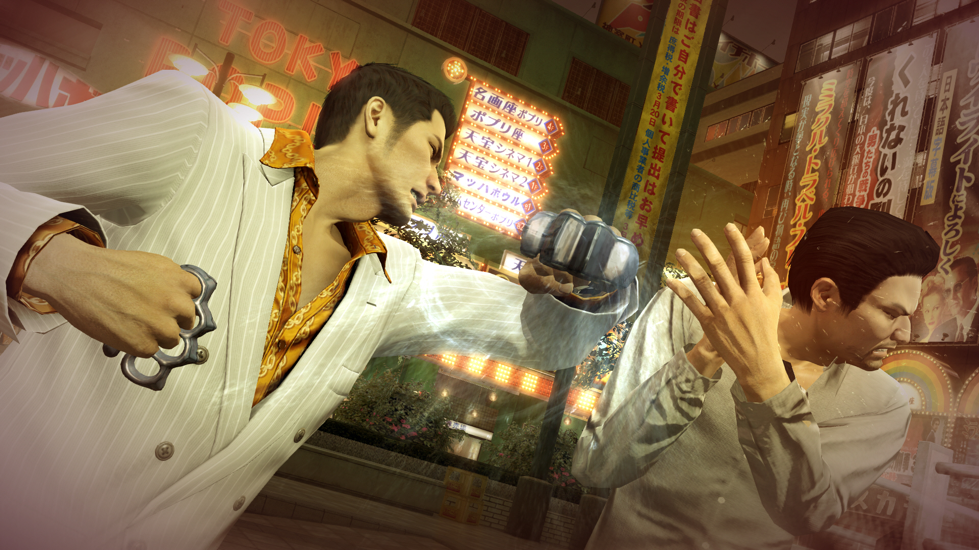 Kiryu has multiple fighting styles at his disposal to beat his enemies to a pulp.